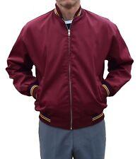 BURGUNDY MONKEY JACKET-MOD CLOTHING RETRO SKA MODS SKINHEAD RELCO 60'S