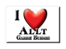 SOUVENIR UK - SCOTLAND MAGNET I LOVE ALLT GARBH BUIDHE (PERTH AND KINROSS)