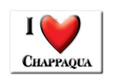 SOUVENIR USA - NEW YORK FRIDGE MAGNET I LOVE CHAPPAQUA (WESTCHESTER COUNTY)