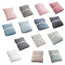 100% Cotton Bed Sheet with Depth Pocket No Color Fade Sheets 150 x 230 CM