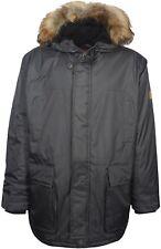 Men's Winter Padded Jacket Heavy Duty MultiPockets Parka Coat Big Size's 5XL 6XL