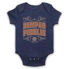 Semper Fidelis XS siempre fiel frase latina cita Amor bebé crezca Ducha Regalo