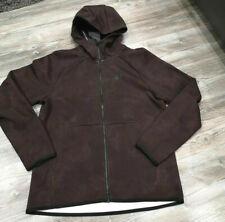 Nike Tech Pack Fleece Full Zip Windrunner Hoodie Brown Black Red BV3141-291 Men