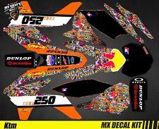 Kit Déco Moto / Mx Decal Kit Ktm SX / SX-F - BombStick