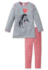 Schiesser Schlafanzug Mädchen Pferde NEU