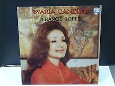 MARIA CANDIDO Chante Francis Lopez 9101287 Dédicacé !