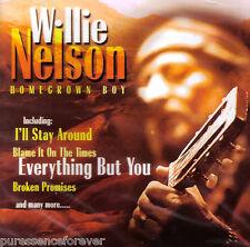 WILLIE NELSON - Homegrown Boy (UK 18 Tk CD Album) (Sld)