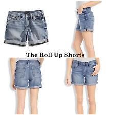 "Lucky Brand,Women's Denim Jean Shorts,""The Roll Up"""