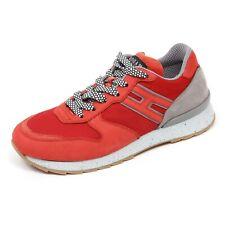 C7460 sneaker uomo HOGAN REBEL R261 rosso/grigio shoe man