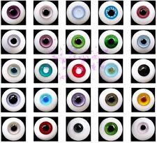 Große Auswahl an neuen Realistisch Augen aus Glas 20mm für Reborn und BJD Puppen