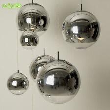 Tom Dixon Chrome Shade Mirror Glass Ball Chandelier Pendant Lamp Light Lighting