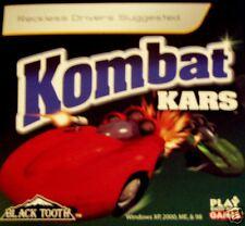 Kombat Kars CDROM Computer Software Car Arcade Game NIB