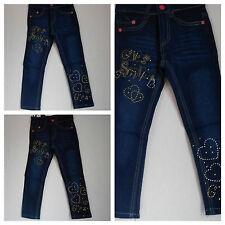 """Jeans,Jeanshose,Mädchen,Kinder,Gr.86,92,98,110,116,122,134,146""""Herz"""""""