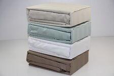 100% Egyptian Cotton 4pcs Sheet Set Sateen Stripe-3cm 4 colour