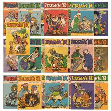 Mosaik  Abrafaxe   Digedags   Comic  DDR  1980 -1981  zum Auswählen