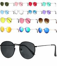 Retro Sonnenbrille Metall rund silber schwarz lila Lennon Stil 532 Zf26NxuAV