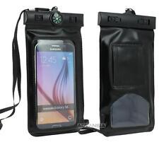 Housse Etanche Noir Smartphone Téléphone  Kayak Canyon Natation Bateau Randonnée