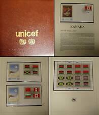 ONU NY BANDIERE 1983 piccoli archi, FDC, cuore pezzi imalbum