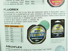 Monofilo Fassa Jtm Fluorex 150 mt rivestito in fluorocarbon, pesca fiume, mare