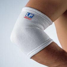 Codera elástica LP-603. Soporte para el codo lesiones, deporte... Color blanco