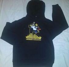 Pittsburgh Steelers Pirates Penguins 3 team hoodie sweatshirt hood