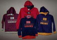 Boy's XS S M L NCAA Football Hoodie Sweatshirt GEORGIA LSU AUBURN FSU ~ You Pick
