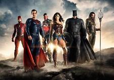 Liga De La Justicia Batman Superman WONDERWOMAN Impresión Foto Poster A3 A4