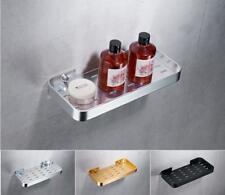 Bathroom Bath Caddies Storage Shower Soap Basket Holder Aluminum Wall Shelf L51