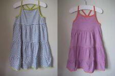 New Mini Boden Jersey Stripe Frill Dress 1.5-12 years Summer Sun