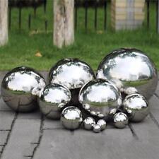 Stainless Steel Mirror Sphere Hollow Garden Decoration Gazing Ball 120-300mm