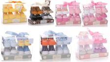 Shruti Unisexe nouveau-né bébé garçon fille Pack de 4 Chaussettes 0-12 mois