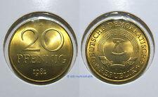 DDR 20 Pfennig MATT 1969-1989 *** Jahr und Erhaltung zur Auswahl
