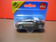 Siku Bugatti Veyron Silver / Black 2 Tone (New & Sealed) 1:55 (Item # 1305)