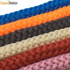 12mm Cordón Trenzado Cuerda para Anoraks Abrigos Unidos Correa Bolsa Mochila