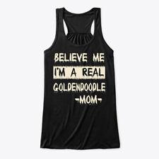 Real Goldendoodle Mom Tee Bella Flowy Tank Tanktop