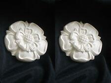 Orné Tudor roses en caoutchouc silicone moule