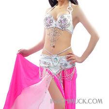 C91816 Profesional Belly Dance Disfraz 2 Piezas Sujetador Correa vernus