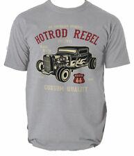 Hot Rod Rebel t shirt car muscle american S-3XL