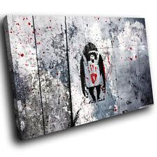 Abstract Z 231 Monkey Banksy Graffiti Modern Canvas Wall Art cool Picture Prints