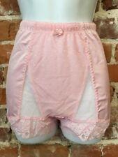 Rhonda Shear Parfait Pink Mesh Dot Pin-Up Retro High Waist Panties New