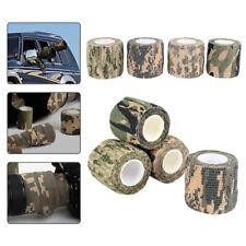 Camouflage Camo Tape 5cm x 4.5m Rifle Wrap Fabric Gun Hunting Stealth HK9