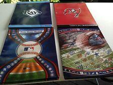 RAYS,BUCCANNERS,MAJOR LEAGUE BASEBALL,NFL FOLDERS
