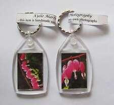 Bleeding Heart Keyring keychain UNIQUE RARE NEW handmade flower VALENTINES