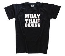 Muay Thai Boxing - Letters kickboxen mma k1 T-Shirt S-XXXL neu