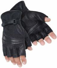Tourmaster Gel Cruiser 2 Fingerless Leather Powersports Motorcycle Gloves