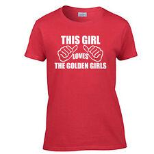 The Golden Girls TV Show This Girl Loves The Golden Girls Women's T-Shirt