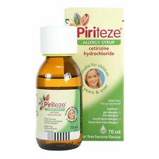 Piriteze Childrens Allergy & Hayfever Syrup 70ml - Multibuy