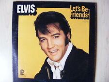 Elvis Presley--LP-Elvis- Lets Be Friends -Pickwick-1970