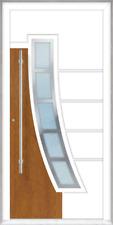 "Aluminium- Haustür ""Modell 1571-6"" beidseitig flügelüberdeckend, Maßanfertigung"