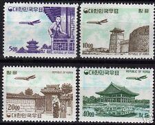 South Korea 1962 Mi 371-374 Mnh F/Vf